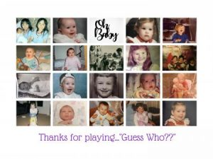 Photo collage of the staff baby photos